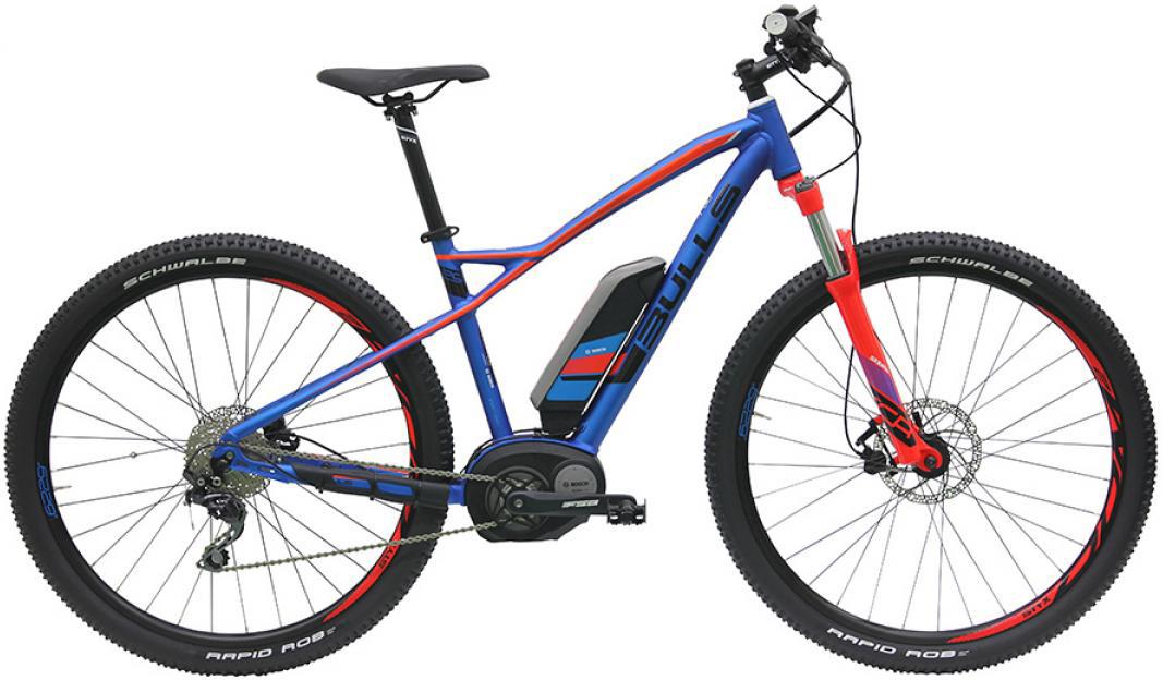 Электровелосипед Bulls Twenty9 E1 2016, цвет: синий, рама 22, колесо 29257728