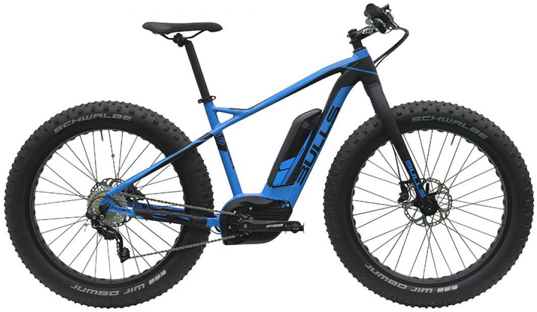 Электровелосипед Bulls Monster E 2016, цвет: синий, рама 18, колесо 26257756
