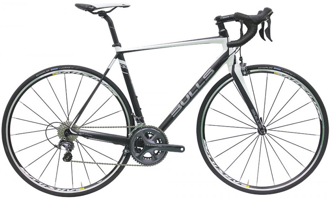 Велосипед шоссейный Bulls Desert Falcon 2016, цвет: белый, рама 21,5, колесо 28257795
