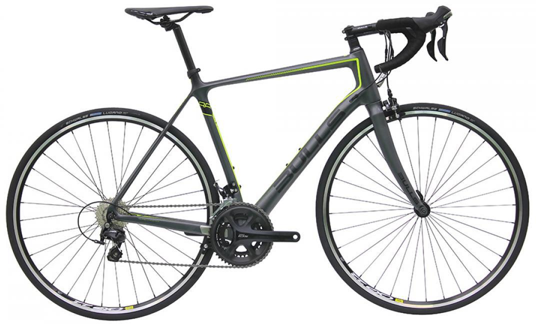 Велосипед шоссейный Bulls Night Hawk 1 2016, цвет: серый, рама 20,5, колесо 28257808