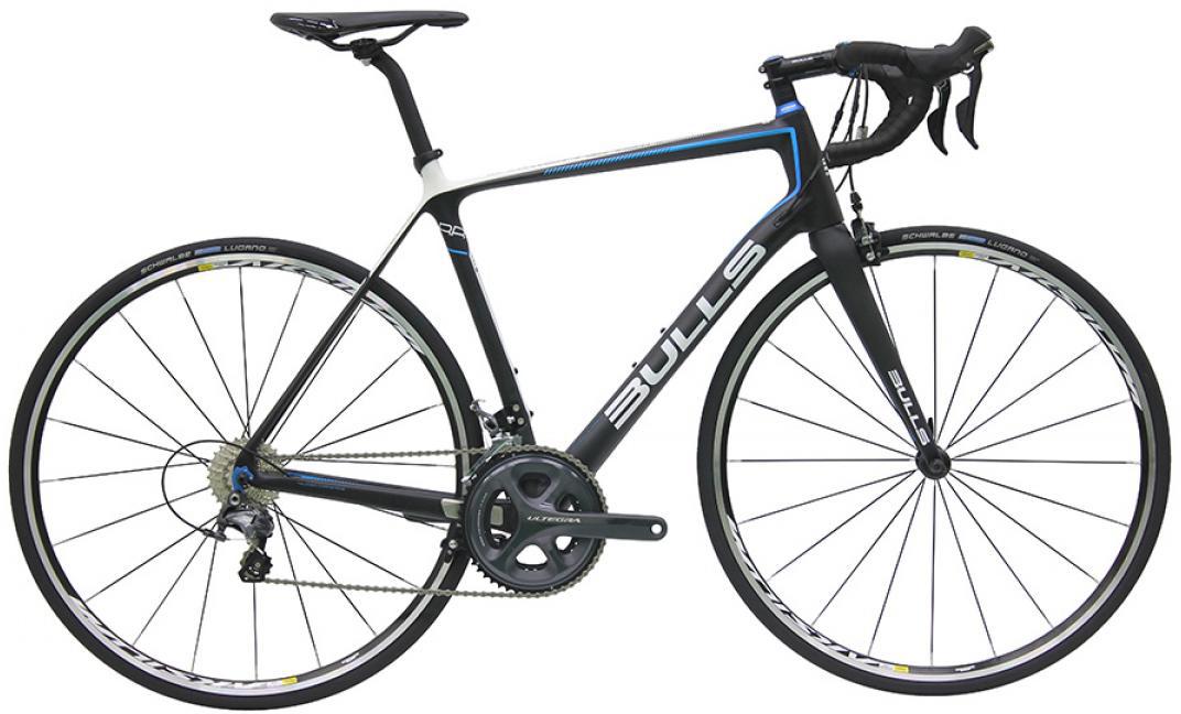 Велосипед шоссейный Bulls Night Hawk 2 2016, цвет: черный, рама 20,5, колесо 28257814