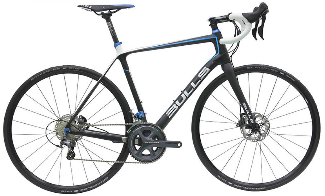 Велосипед шоссейный Bulls Alpine Hawk 2016, цвет: черный, рама 23,5, колесо 28257830