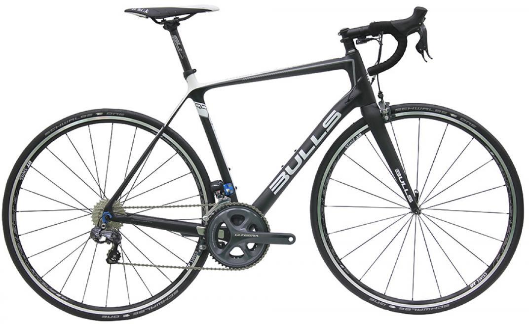 Велосипед шоссейный Bulls Night Hawk Di2 2016, цвет: черный, рама 23,5, колесо 28257836