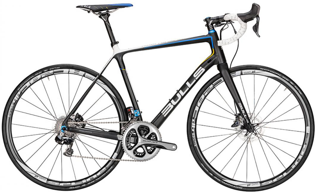 Велосипед шоссейный Bulls Alpine Hawk Team Di2 2016, цвет: черный, рама 20, колесо 28257837
