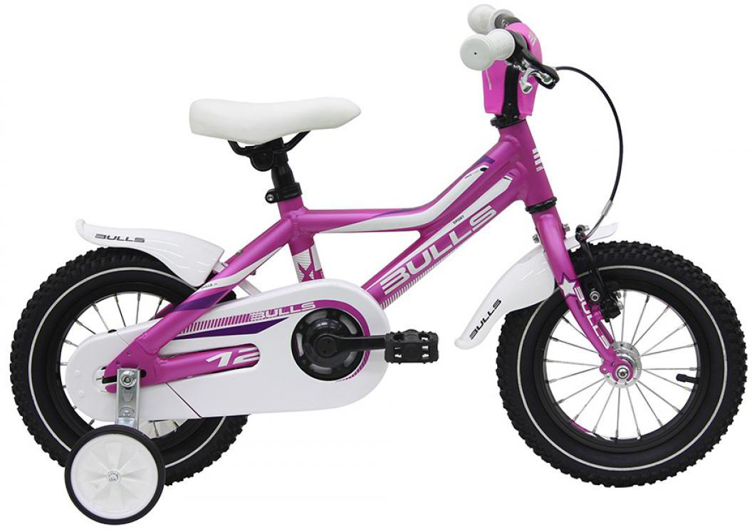 Велосипед детский Bulls Tokee Lite Girl 2016, цвет: синий, колесо 12257860