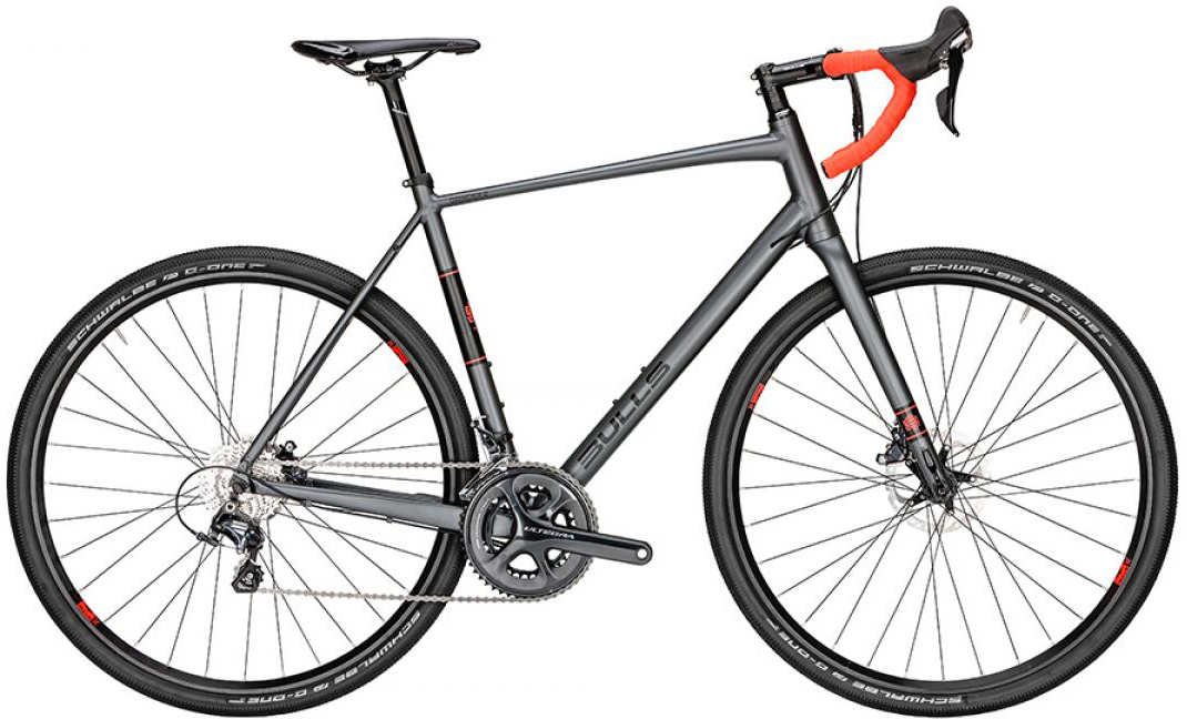 Велосипед шоссейный Bulls Grinder 2 2016, цвет: серый, рама 19,5, колесо 28257866