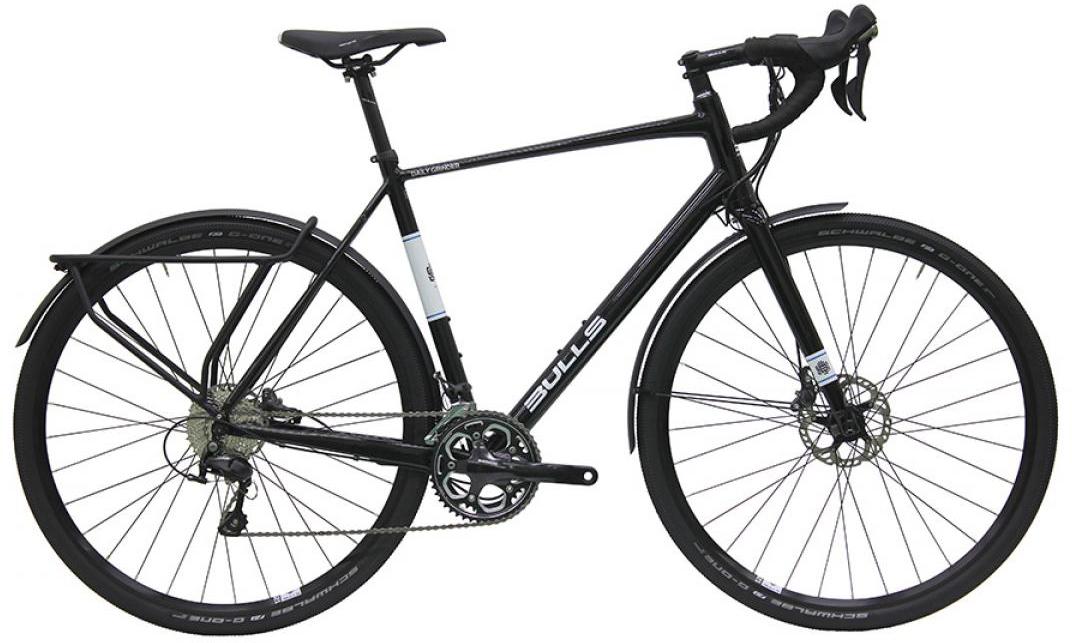 Велосипед шоссейный Bulls Daily Grinder 2016, цвет: черный, рама 21,5, колесо 28257874