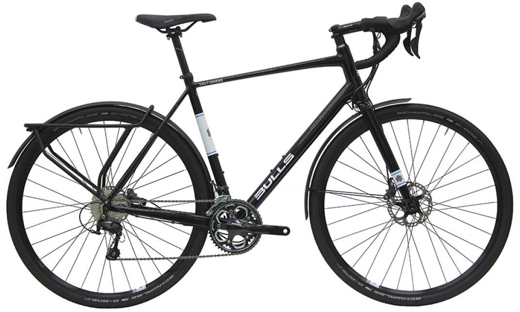 Велосипед шоссейный Bulls Daily Grinder 2016, цвет: черный, рама 24, колесо 28257876