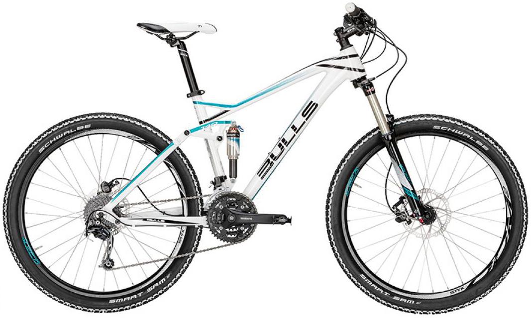Велосипед женский Bulls Jillaroo 2016, цвет: белый, рама 18, колесо 27,5257889