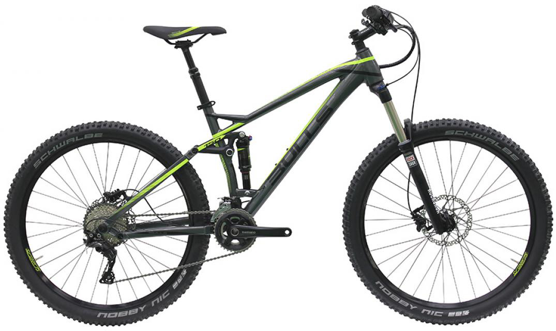 Велосипед горный Bulls Wild Cup 3 2016, двухподвесный, цвет: зеленый, рама 19,5, колесо 27,5257905