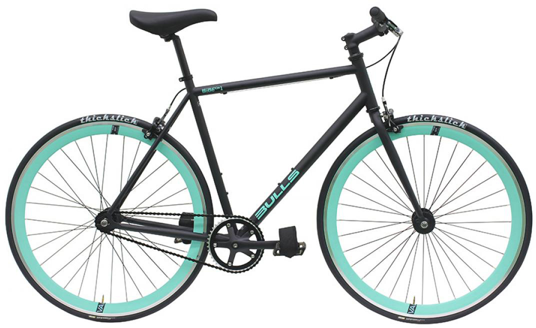 Велосипед городской Bulls Recreation Ground 1 2016, цвет: черный, рама 21,5, колесо 28257920