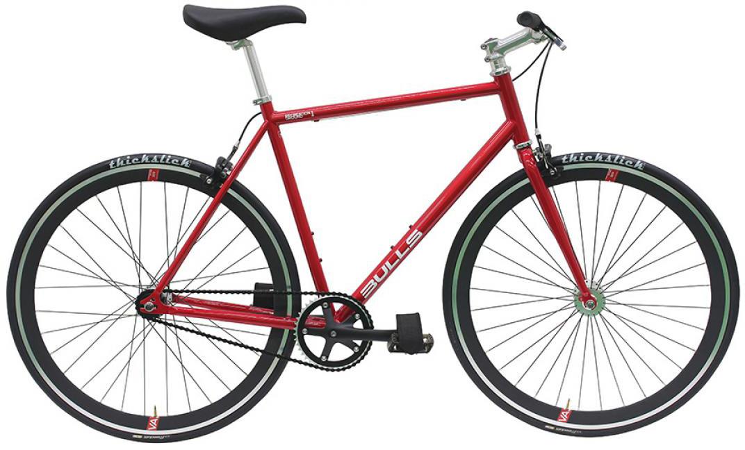 Велосипед городской Bulls Recreation Ground 1 2016, цвет: красный, рама 23,5, колесо 28257924