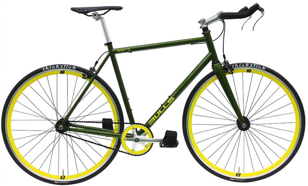 Велосипед городской Bulls Recreation Ground 3 2016, цвет: зеленый, рама 20, колесо 28257934