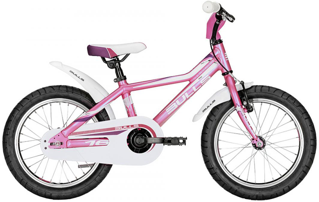 Велосипед детский Bulls Tokee Lite Girl 2016, цвет: розовый, колесо 16257940