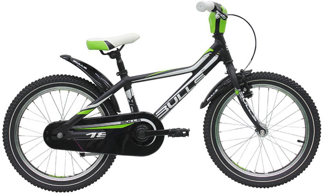 Велосипед детский Bulls Tokee Lite 2016, цвет: черный, колесо 18257942