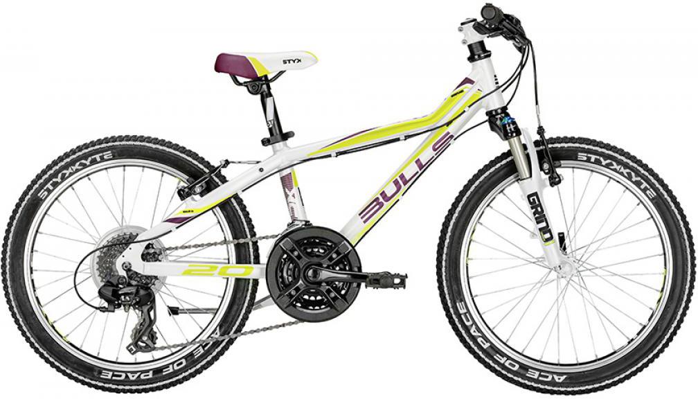Велосипед детский Bulls Tokee Lite Girl 2016, цвет: белый, колесо 20257946