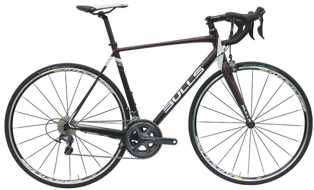 Велосипед шоссейный Bulls Desert Falcon 2016, цвет: черный, рама 19, колесо 28257956