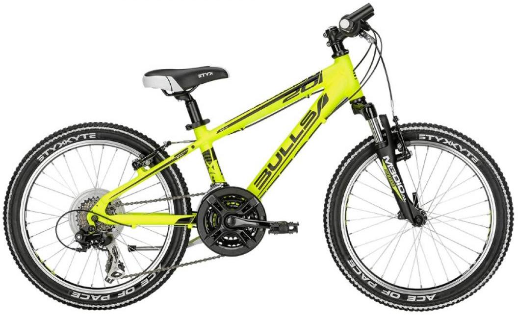 Велосипед детский Bulls Tokee 2016, цвет: желтый, колесо 20257961