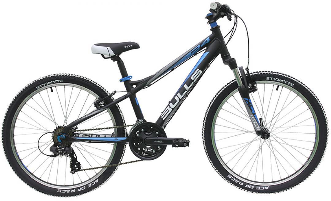 Велосипед детский Bulls Sharptail 2016, цвет: черный, колесо 24257970