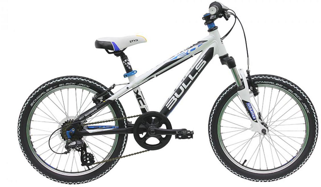Велосипед детский Bulls Nova Team 2016, цвет: белый, колесо 20257973