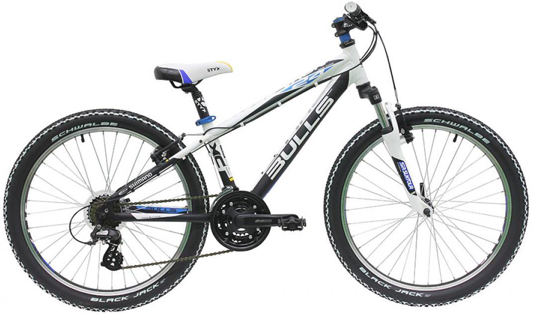Велосипед детский Bulls Nova Team 2016, цвет: белый, колесо 24257974