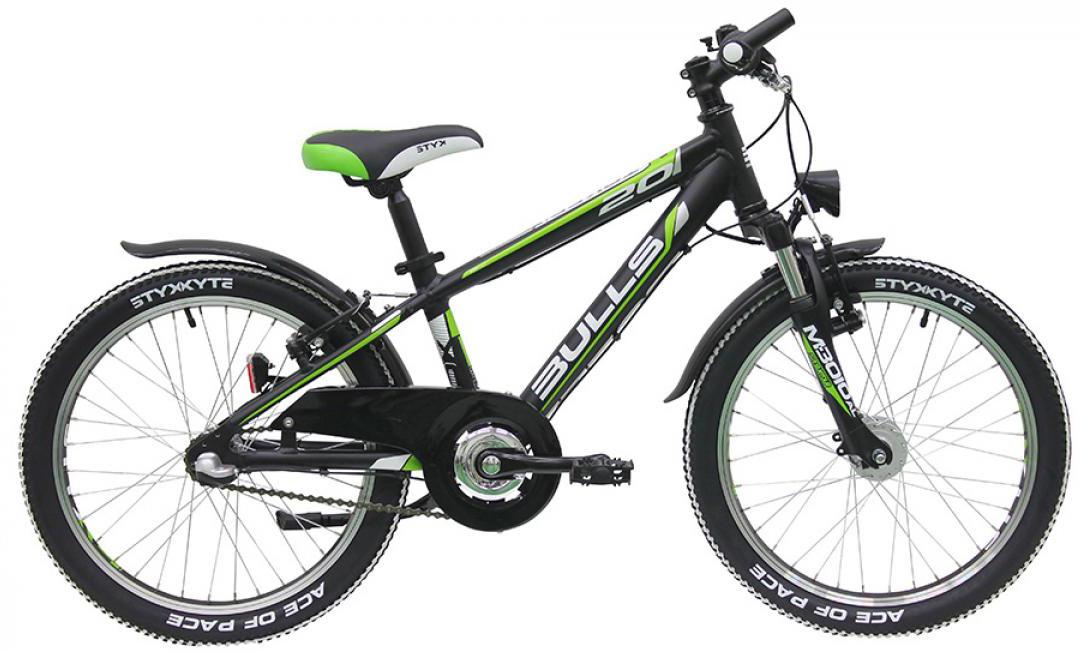 Велосипед детский Bulls Tokee Street (Boy / 3G) 2016, цвет: черный, колесо 20257979