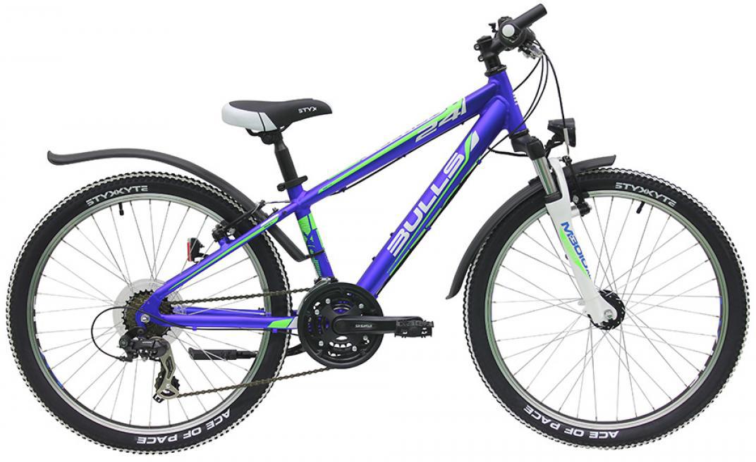 Велосипед детский Bulls Tokee Street (Boy / 3G) 2016, цвет: синий, колесо 24257996
