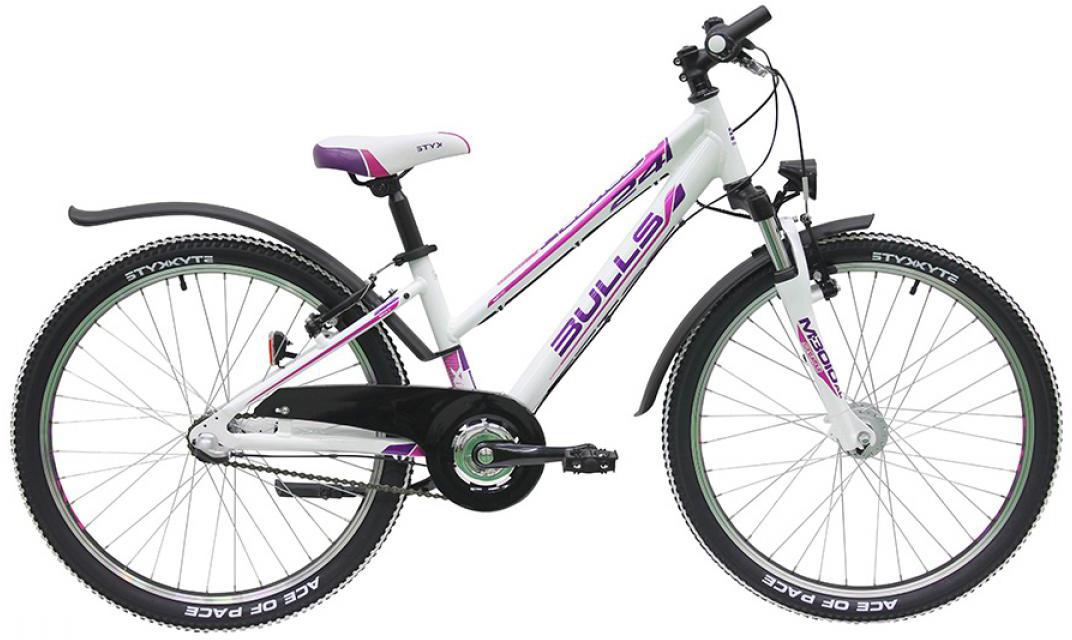 Велосипед детский Bulls Tokee Street (Girl / 3G) 2016, цвет: белый, колесо 24257997