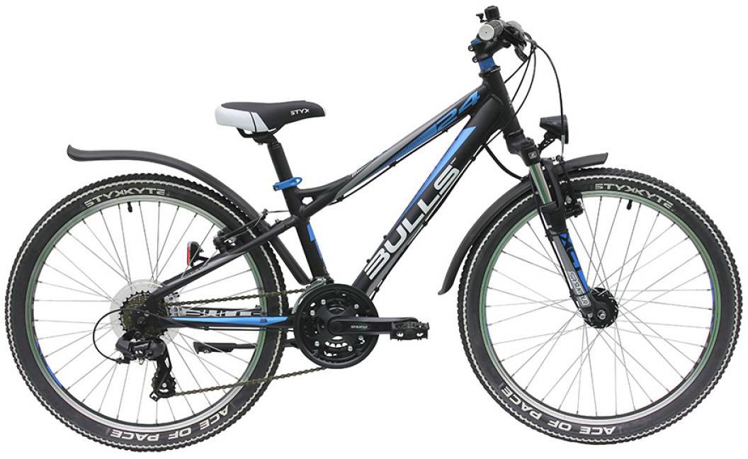 Велосипед детский Bulls Sharptail Street 21G Boy 2016, цвет: черный, колесо 24257998