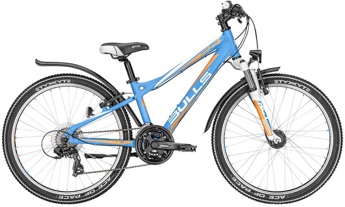Велосипед детский Bulls Sharptail Street 21G Boy 2016, цвет: синий, колесо 24257999