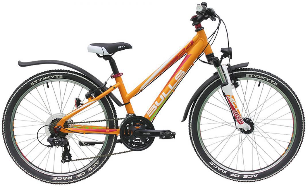 Велосипед детский Bulls Sharptail Street 21G Trapez 2016, цвет: желтый, колесо 24258016