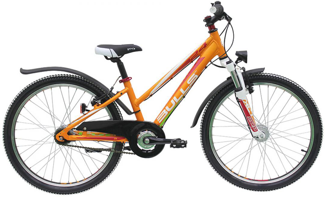 Велосипед детский Bulls Sharptail Street 7G Trapez 2016, цвет: оранжевый, колесо 24258022
