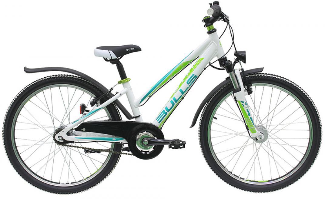 Велосипед детский Bulls Zarena Street 7G Girl 2016, цвет: белый, колесо 24258026