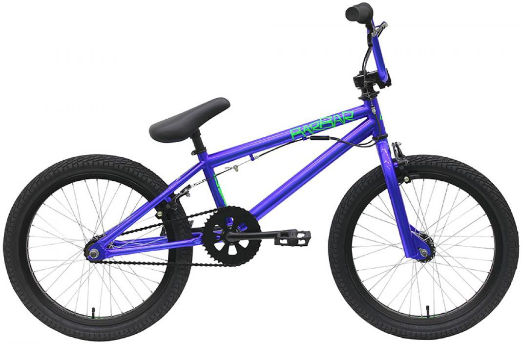 Велосипед BMX Bulls Barbar 2016, цвет: синий, колесо 20258124