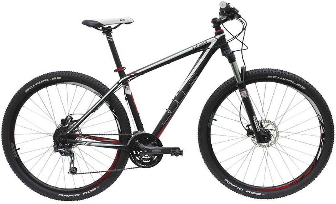 Велосипед горный Bulls LT 2016, цвет: черный, рама 22, колесо 29258132