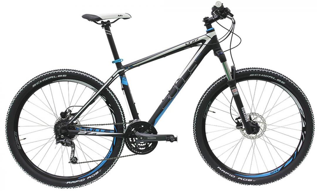 Велосипед горный Bulls LT 27 2016, цвет: черный, рама 20, колесо 27,5258136