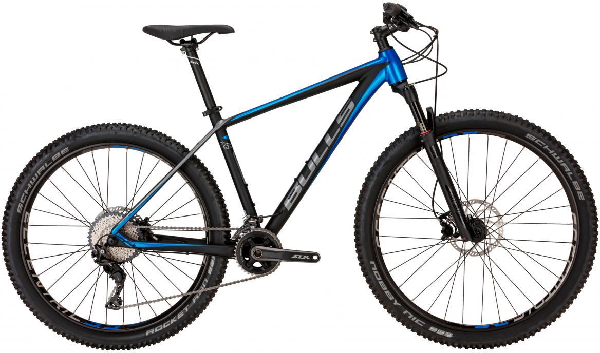 Велосипед горный Bulls Copperhead Max 2017, цвет: черный, рама 20, колесо 27,5270480