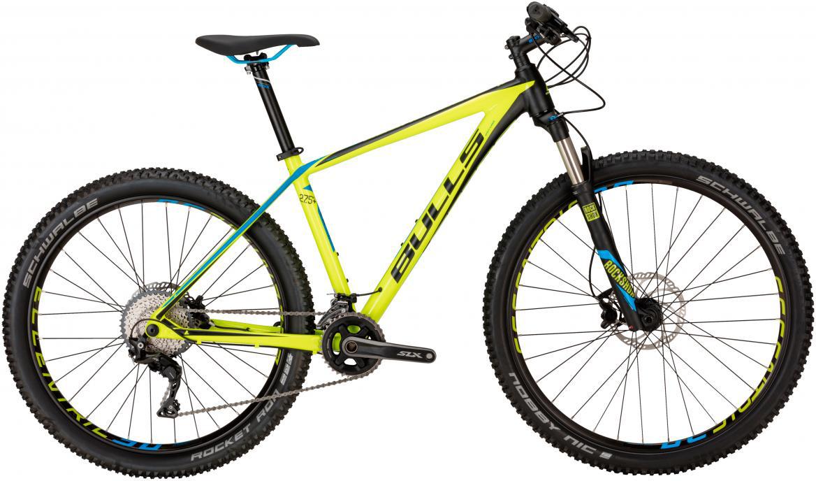 Велосипед горный Bulls Copperhead Max 2017, цвет: зеленый, рама 16, колесо 27,5270482