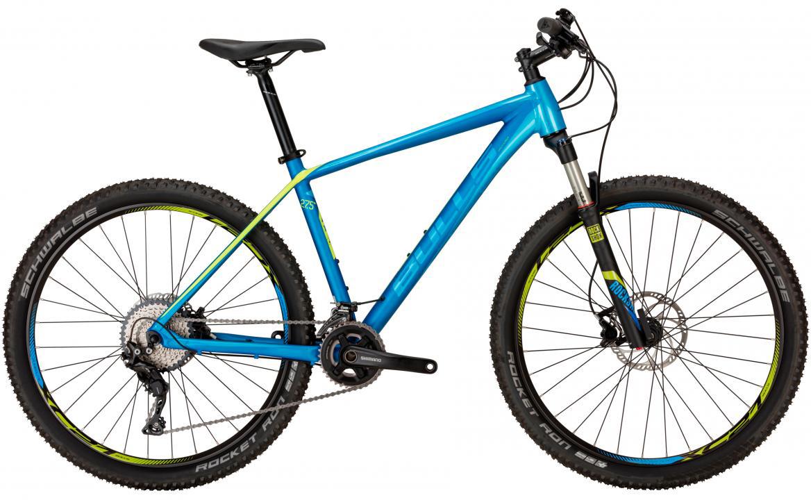 Велосипед горный Bulls Copperhead 3 S 2017, цвет: синий, рама 18, колесо 27,5270508