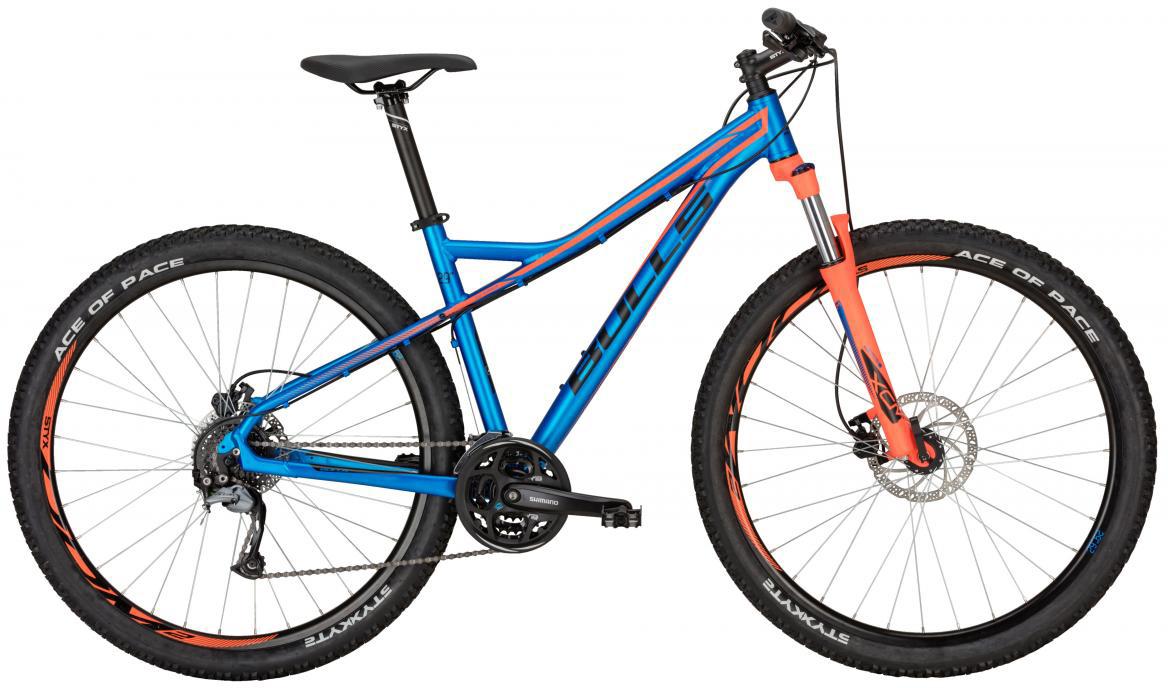 Велосипед горный Bulls Sharptail 2 Disc 2017, цвет: синий, рама 18, колесо 29270763