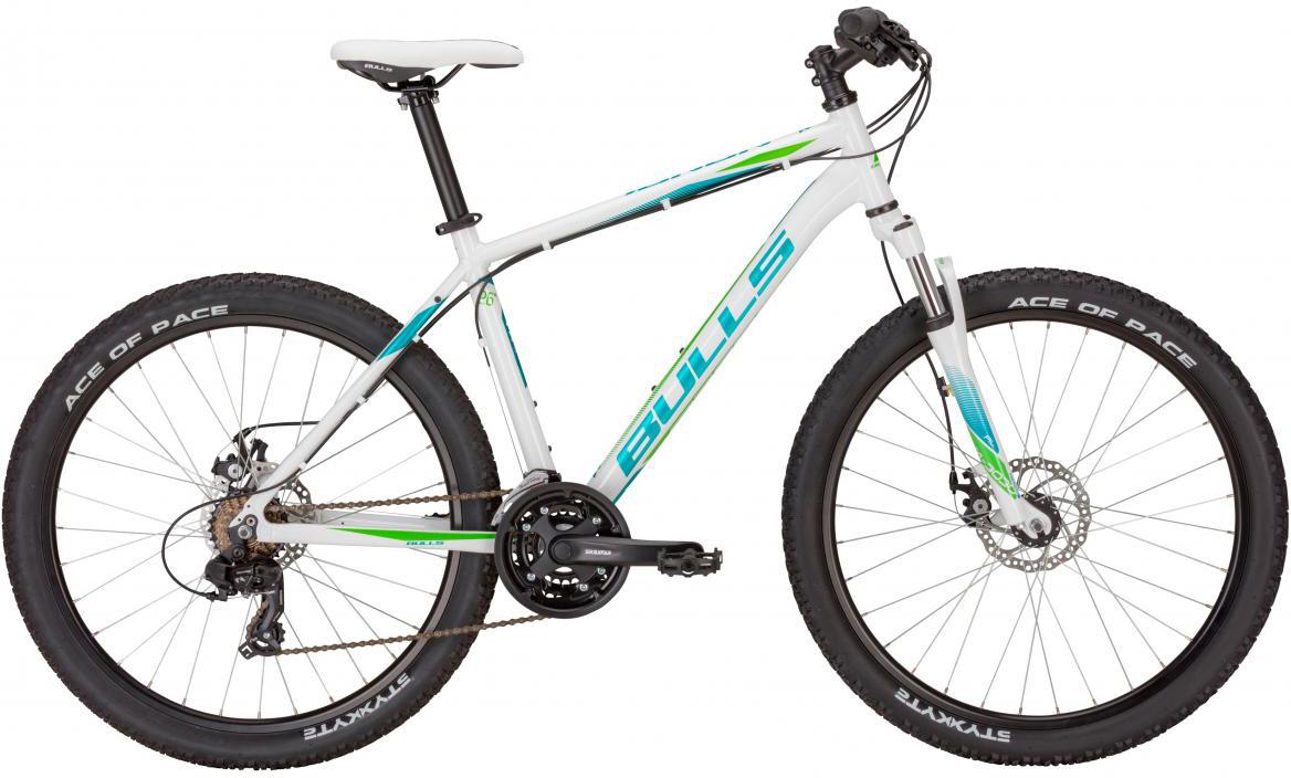 Велосипед горный Bulls Nandi 2017, цвет: белый, рама 16, колесо 26270914