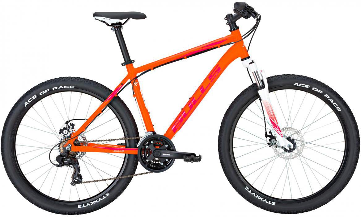 Велосипед горный Bulls Nandi 2017, цвет: оранжевый, рама 20, колесо 26270922