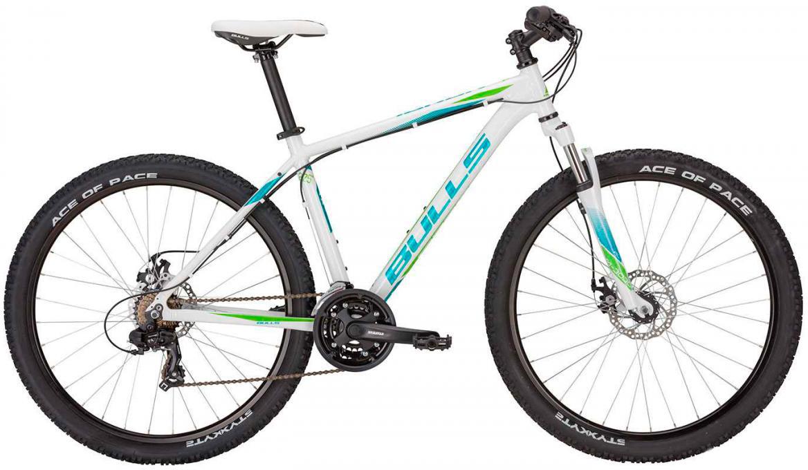 Велосипед горный Bulls Nandi 2017, цвет: белый, рама 14,5, колесо 27,5270924