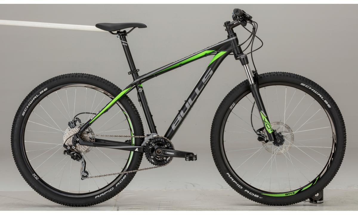 Велосипед горный Bulls Bushtail 2017, цвет: зеленый, рама 18, колесо 29270955