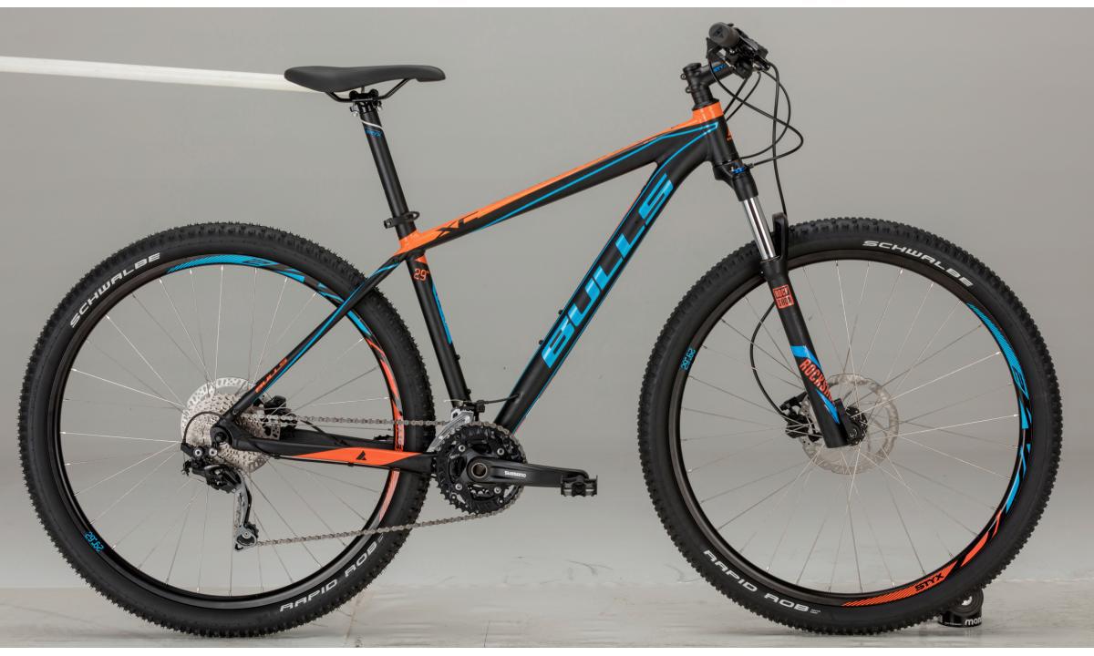 Велосипед горный Bulls King Cobra 2017, цвет: черный, рама 23,5, колесо 29270974