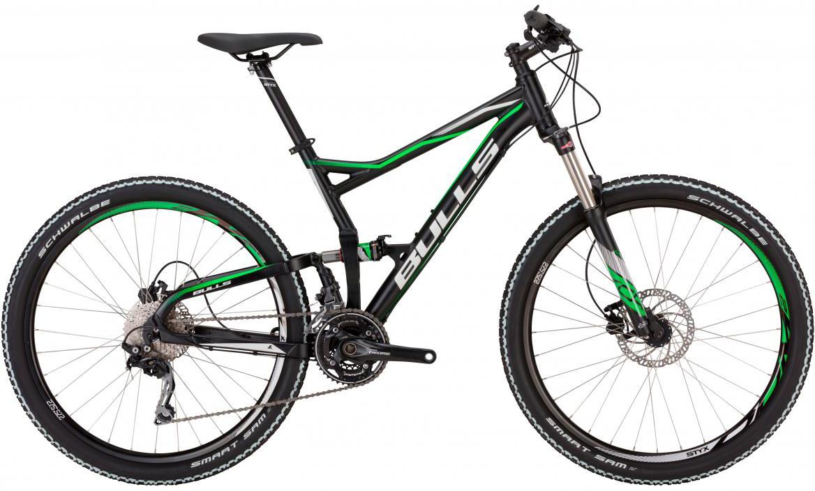 Велосипед горный Bulls Wild Card 2 2017, цвет: черный, рама 22, колесо 27,5271148