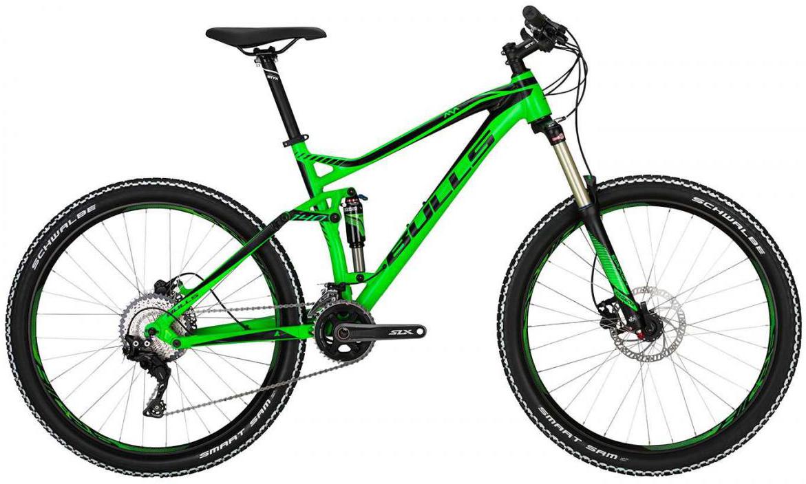 Велосипед горный Bulls Wild One 2017, цвет: зеленый, рама 22, колесо 27,5271153