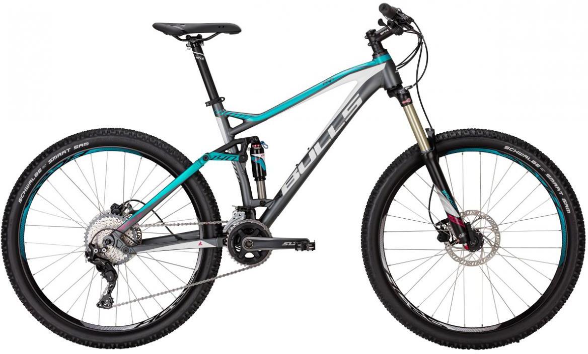Велосипед горный Bulls Jillaroo 2017, цвет: серый, рама 20, колесо 27,5271317