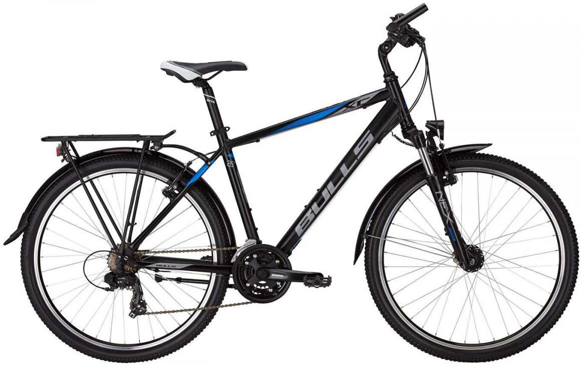Велосипед горный Bulls Pulsar Street Gent 2017, цвет: черный, рама 22, колесо 26271442