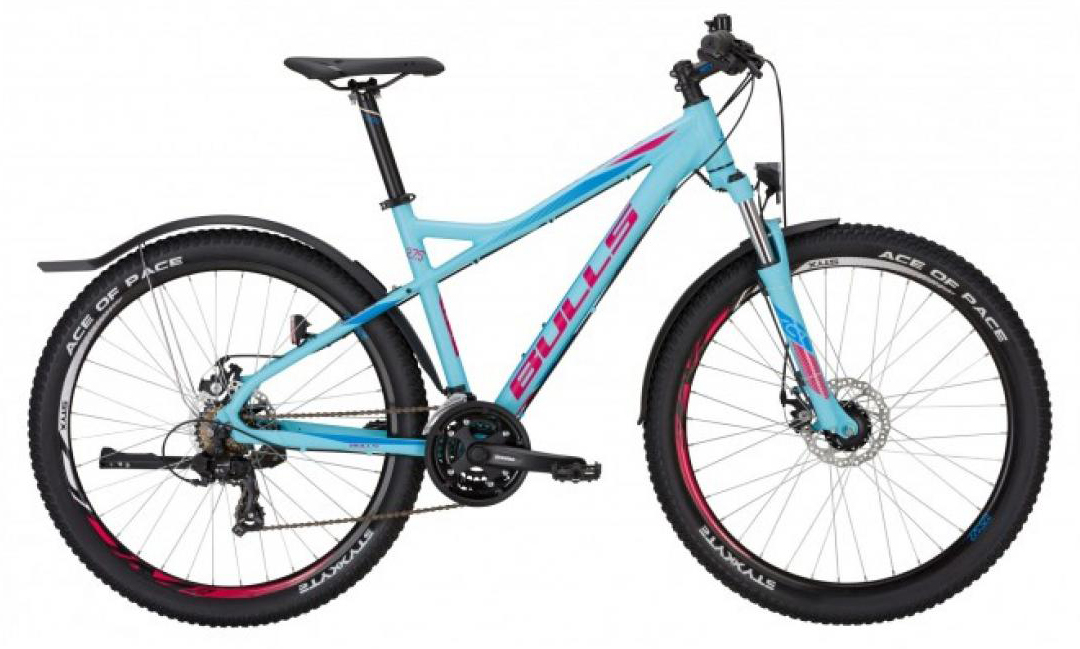 Велосипед горный Bulls Nandi Street 2017, цвет: голубой, рама 18, колесо 27,5271499